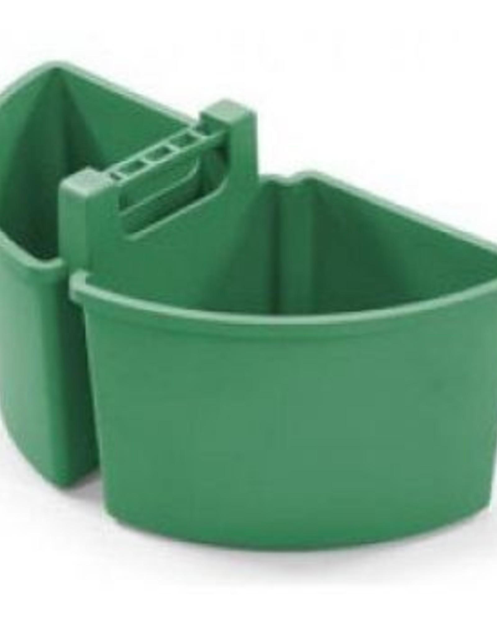 NUMATIC 10 liter caddy, 2 x 5 liter, groen