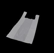 Hemddraagtas Wit HDPE 11my, 280+140x480mm