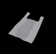 Hemddraagtas Wit HDPE 14my, 300+180x550mm