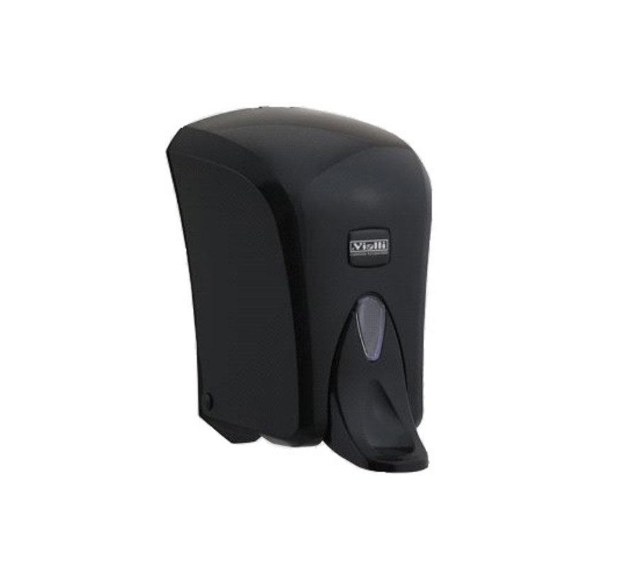Zeep / Alcohol Dispenser 1000 ml Zwart