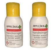AppleJack Handreiniger alcohol AppleJack 2x 50ml