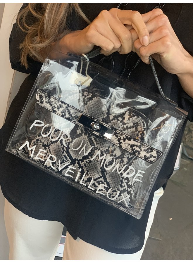 Musthave bag snake print