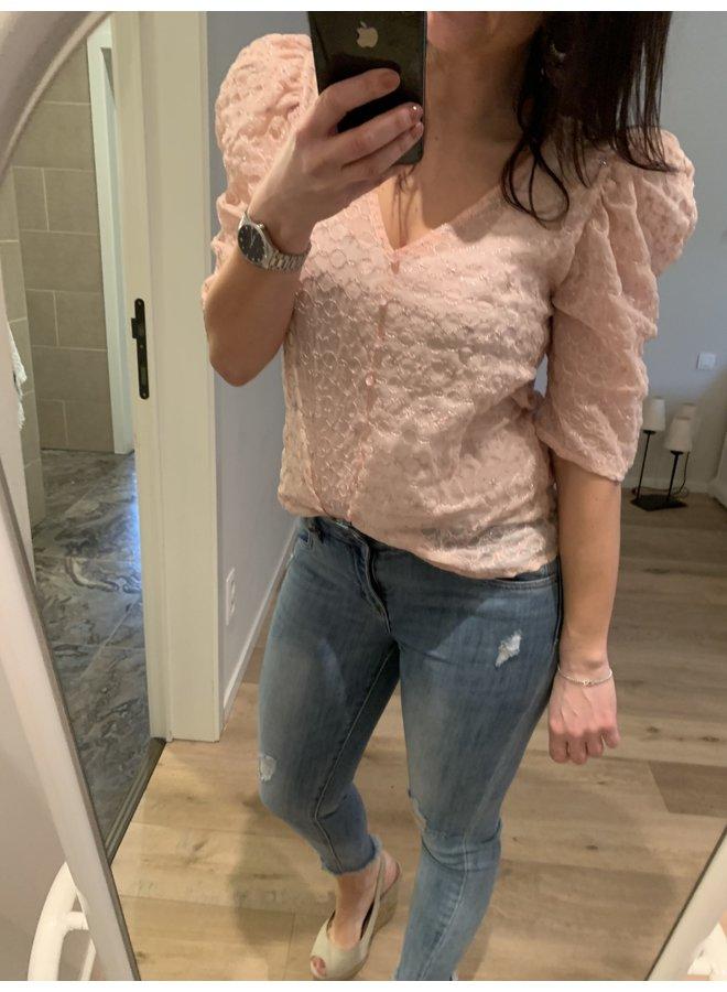 Blouse Mona pink