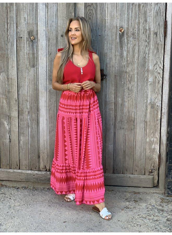 Aztec maxi skirt Nina