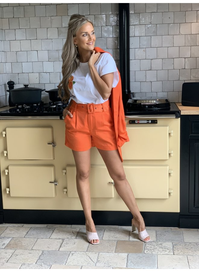 Oversized t-shirt Orange