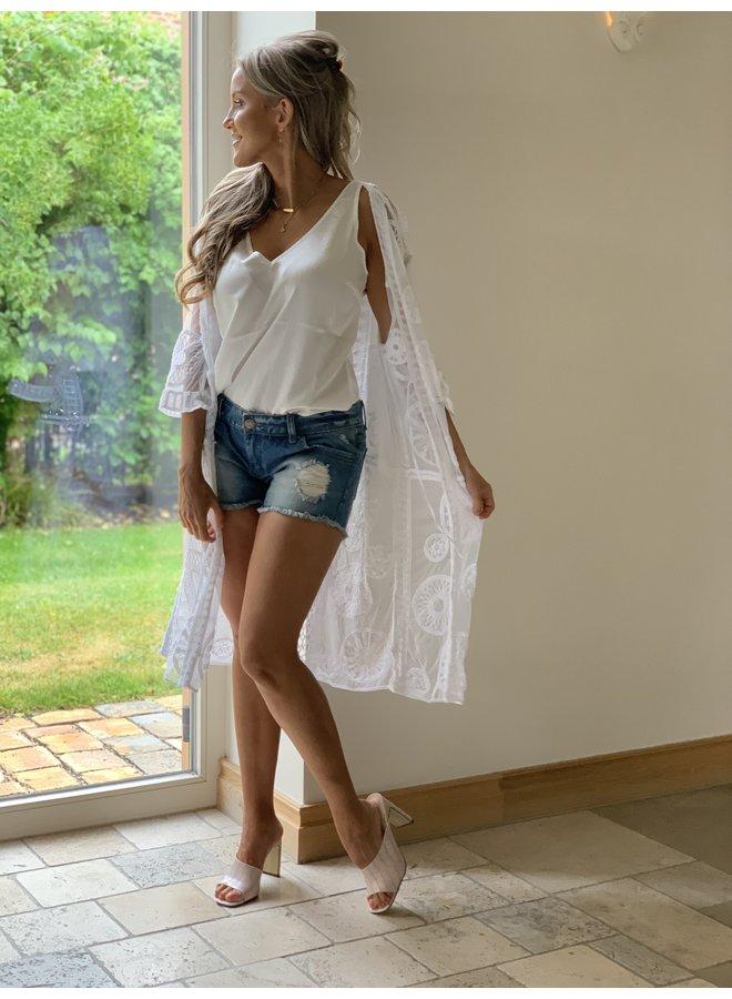 Kimono Charly white