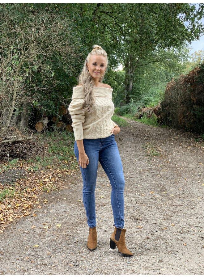 Off shoulder Sweater Ria