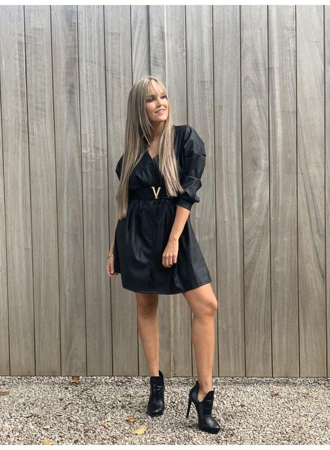 Leather Dress Lola
