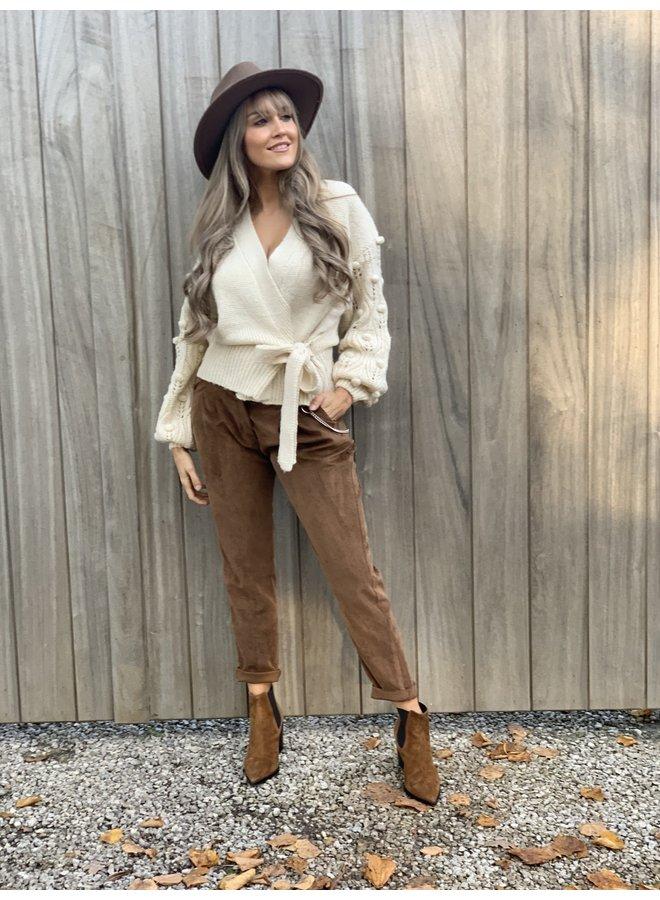Comfy pants Dash brown