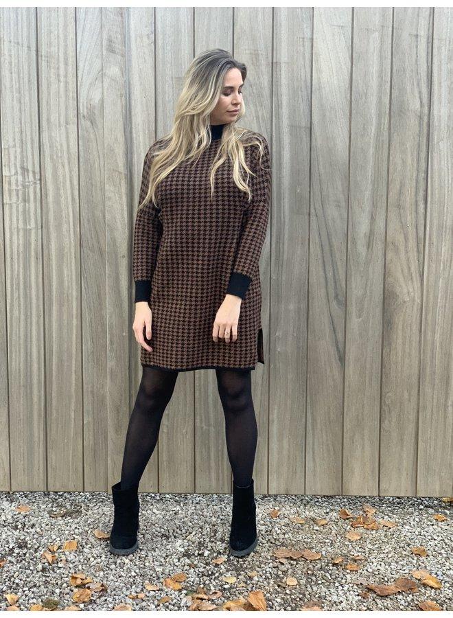Dress Luxa brown