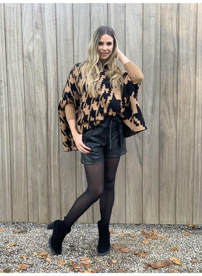 Leather short Nia