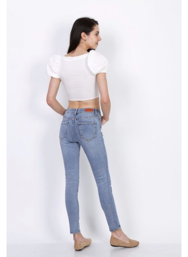 Ripped toxik jeans normal waist