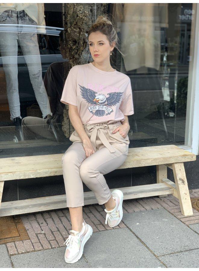T-shirt wild pink