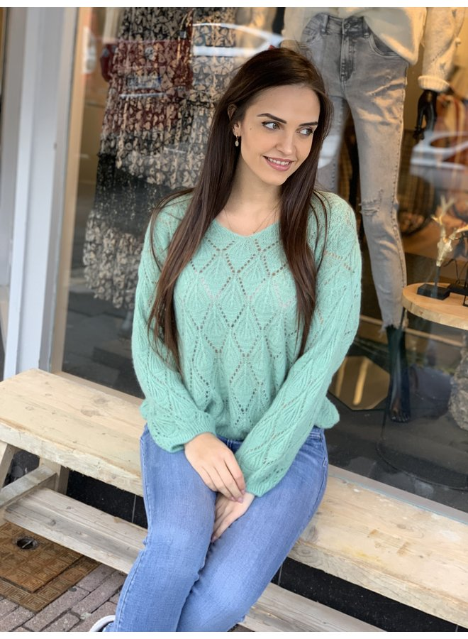 Sweater Joya green