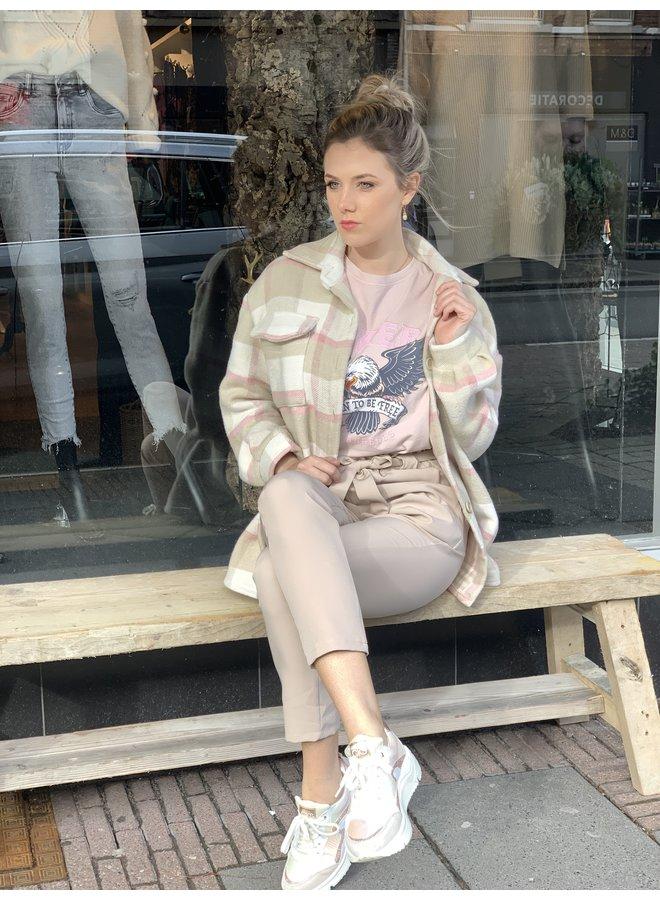 Checkered jacket Franca