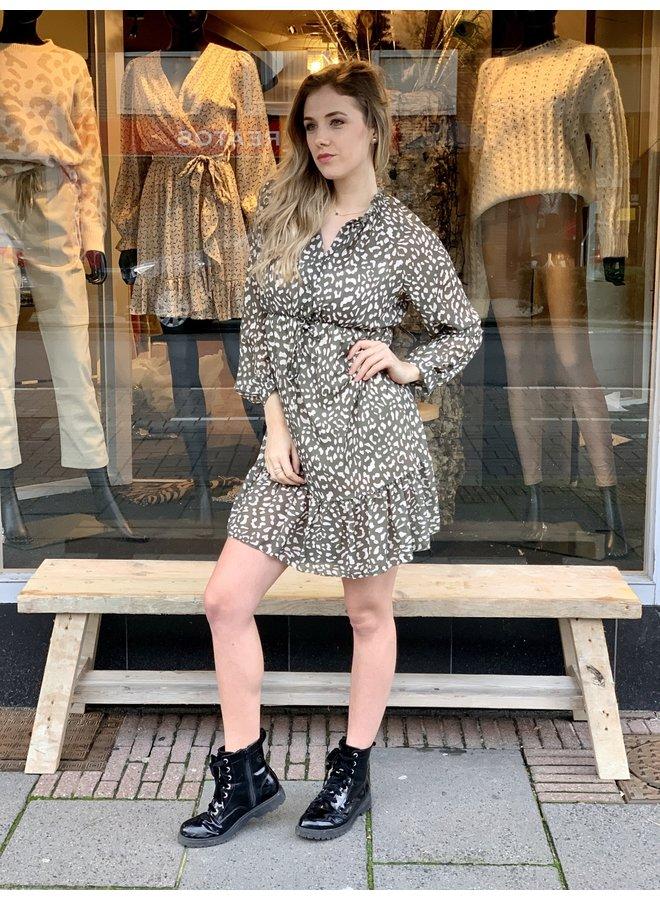 Dress Mila kaki