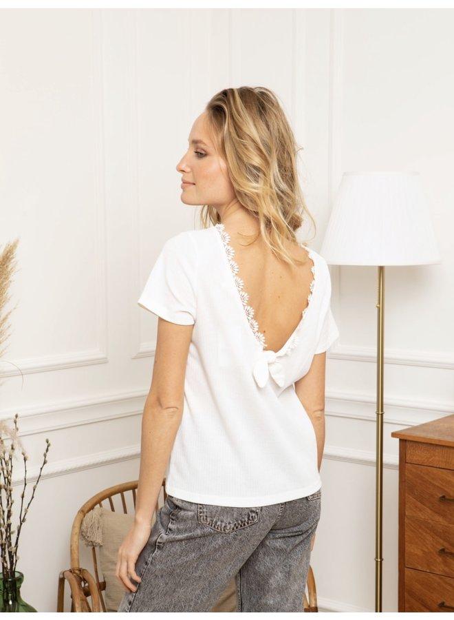 T-Shirt Estelle white