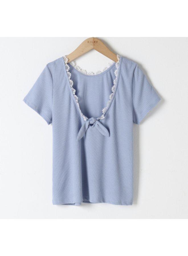 T-shirt Estelle baby blue