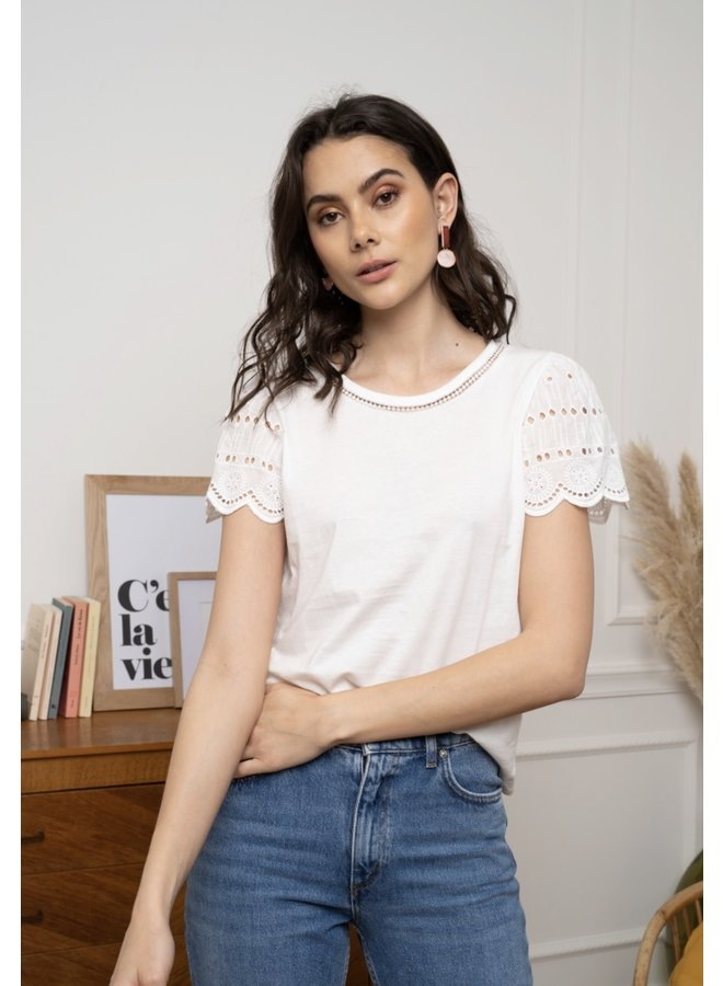 T-shirt Noor white
