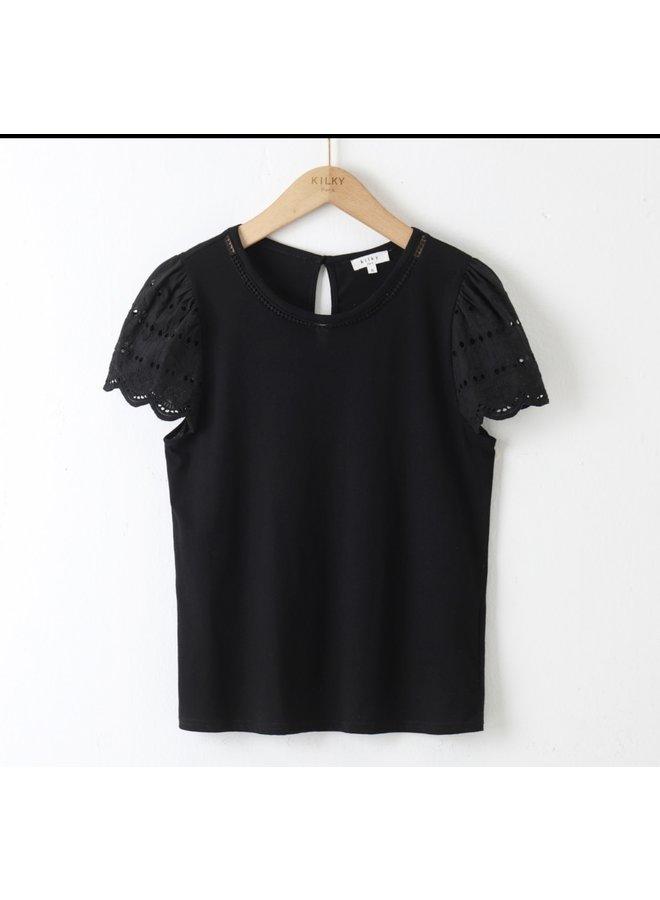 T-shirt Noor black