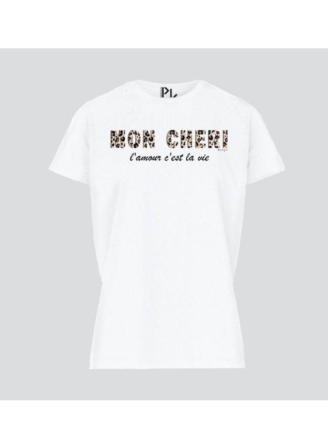 T-Shirt Cheri white