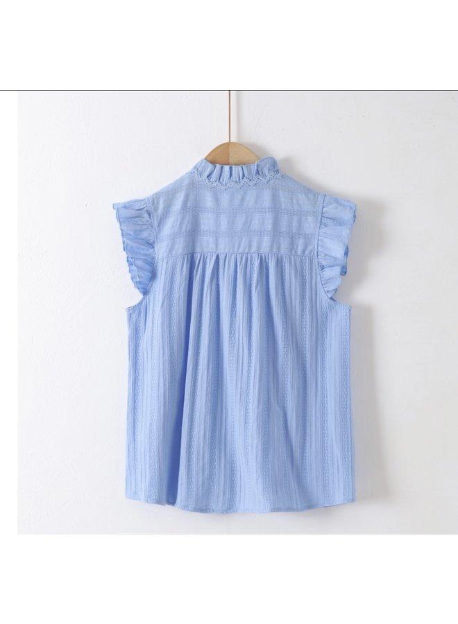 Blouse Nina baby blue