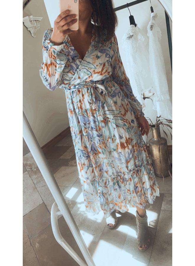 Dress Maybell light blue