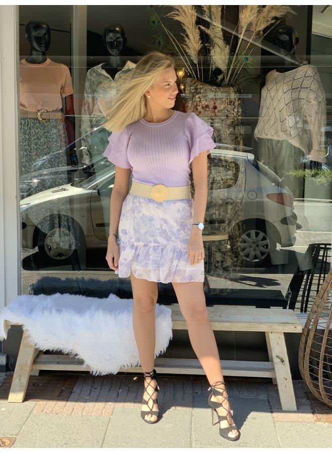 Skirt Lika lila