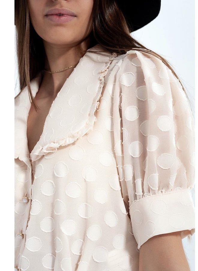 Polka dot blouse Haily