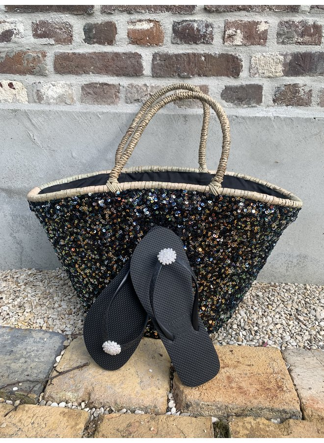 Beach bag/shopper Simone black