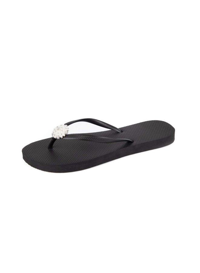 Simone slipper black