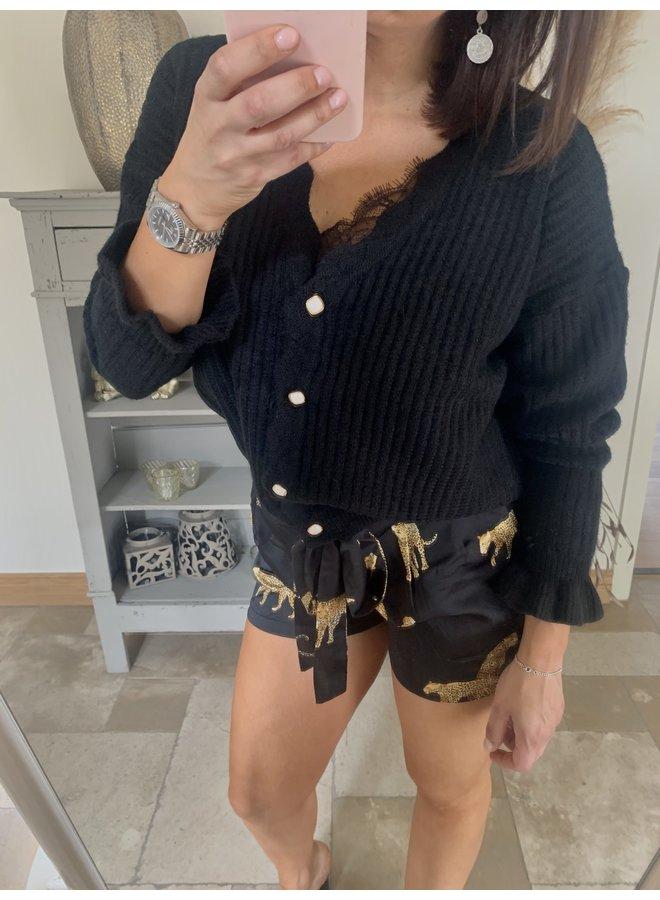 Cardigan Charlotte black