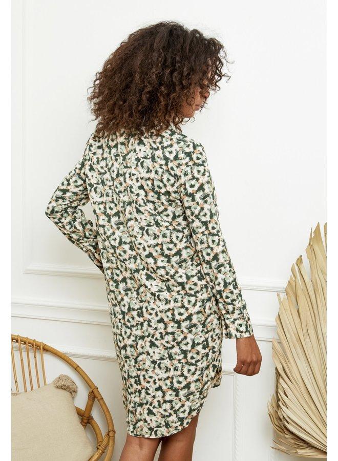 Dress Zia green