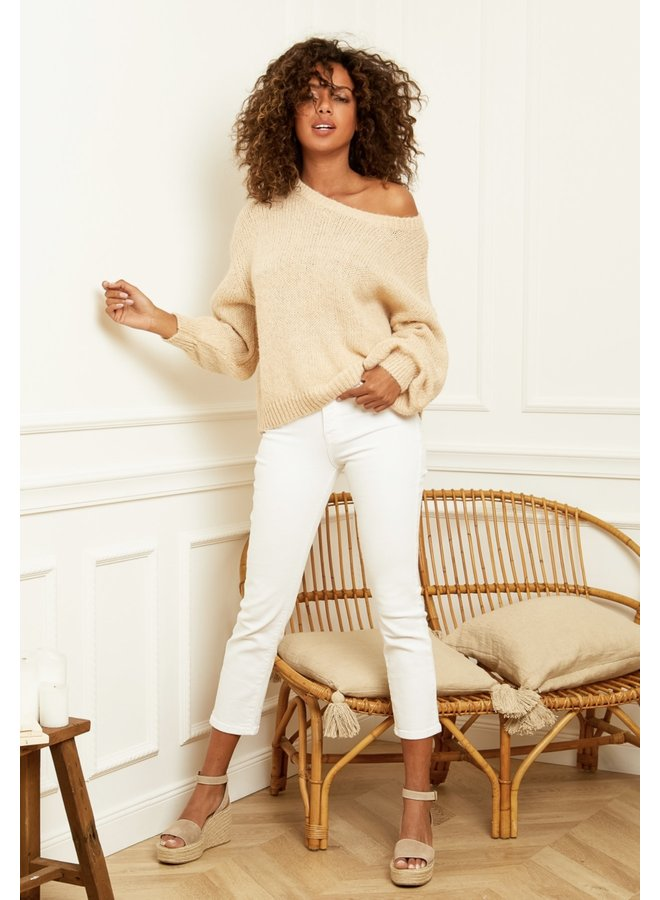 Sweater Charly crème