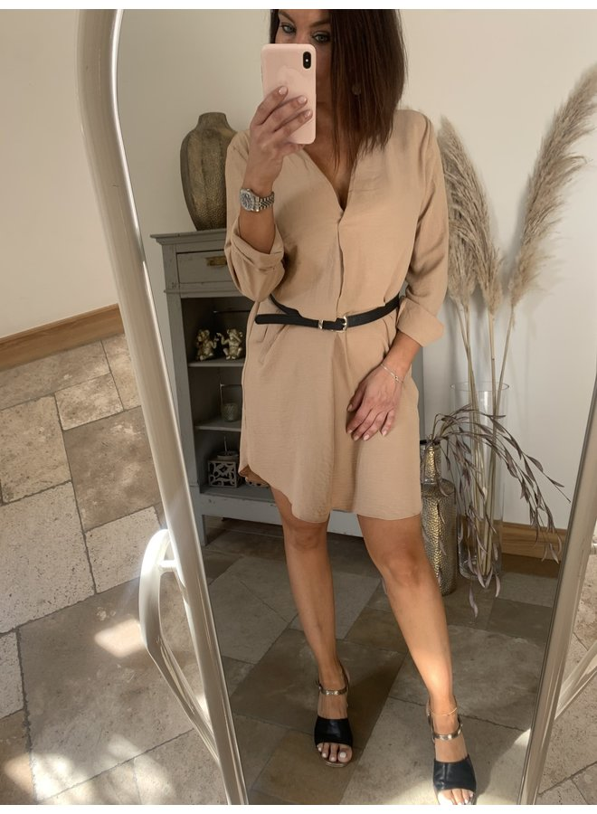 Dress Mia beige