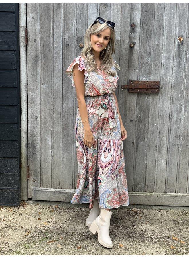 Dress lisa beige
