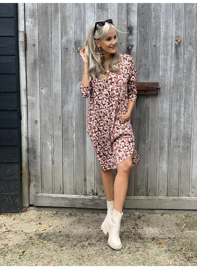 Dress Zia pink