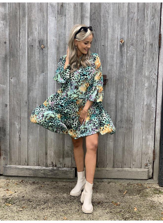 Dress Noémie green
