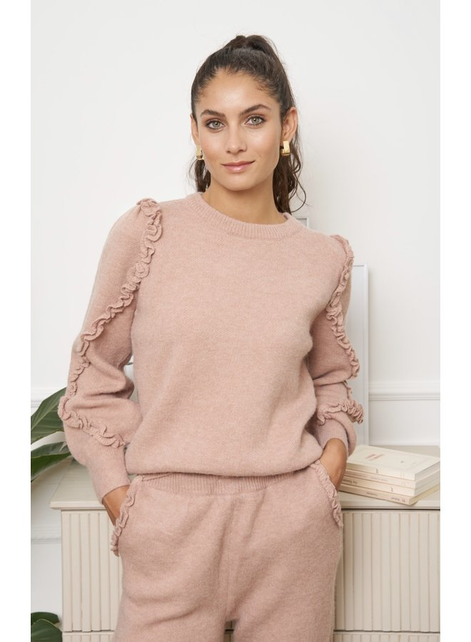 Cosy twinset Cochinelle pink