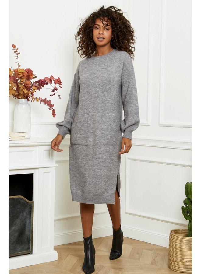 Dress Ella grey