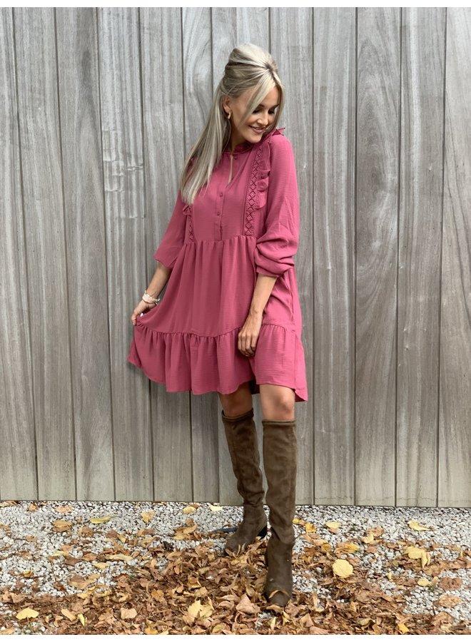 Dress Sarah french pink