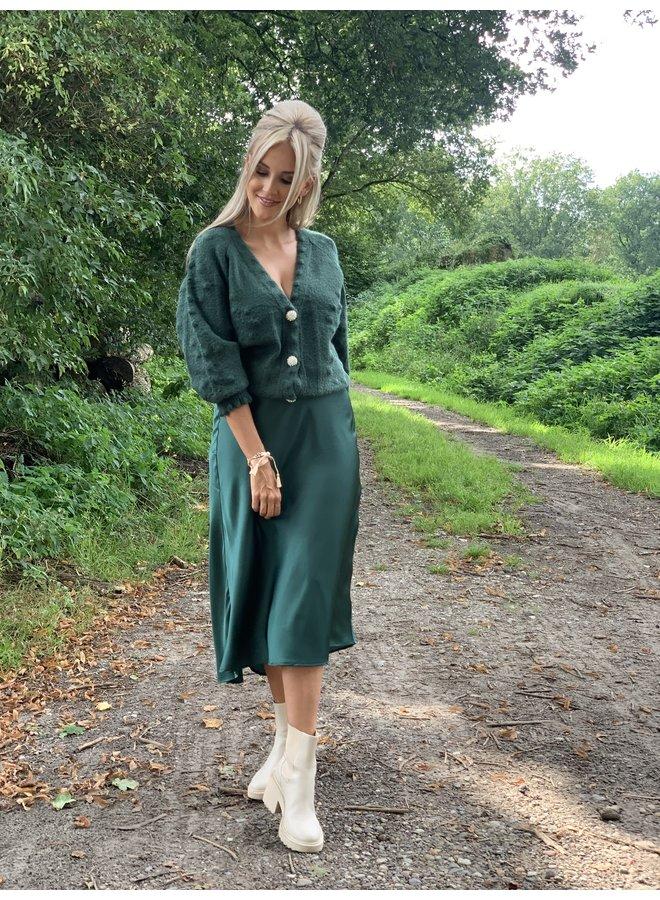 Skirt Sofia green