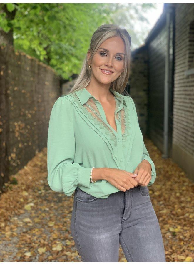 Blouse Olivia pistache