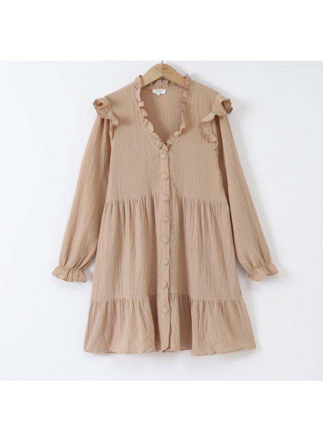 Dress Léonore beige
