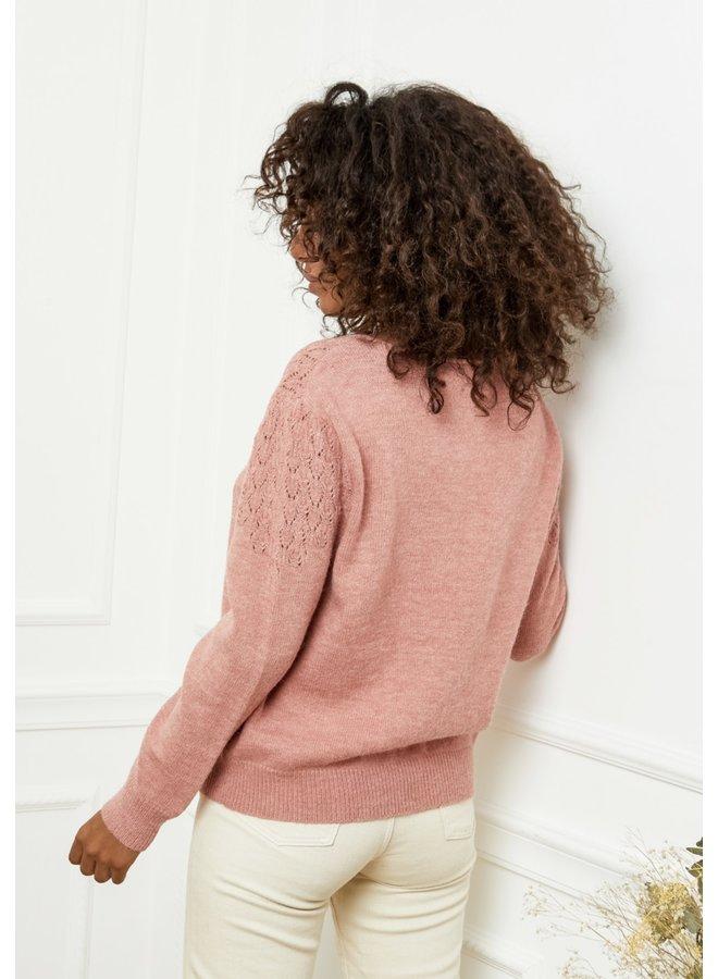 Sweater Louise pink