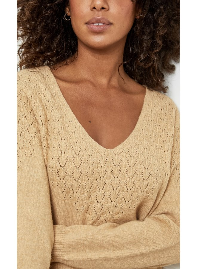 Sweater Louise  Camel