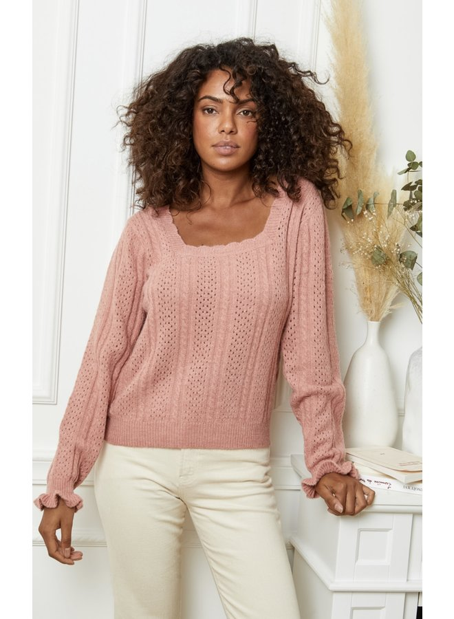 Sweater Elly pink