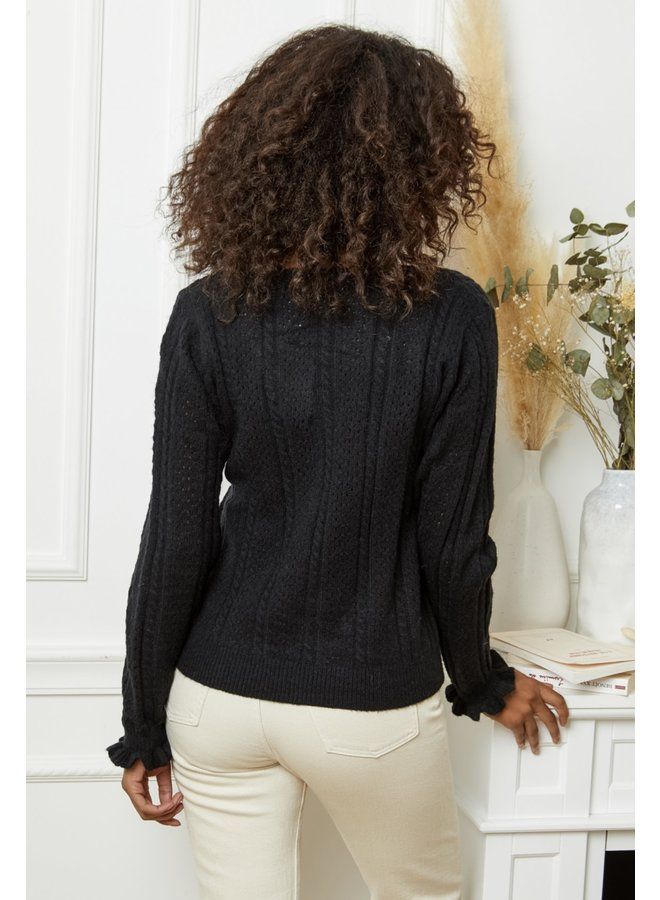Sweater Elly black