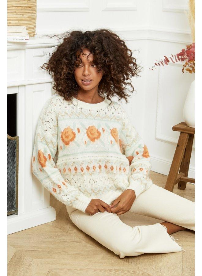 Sweater Rachelle ecru