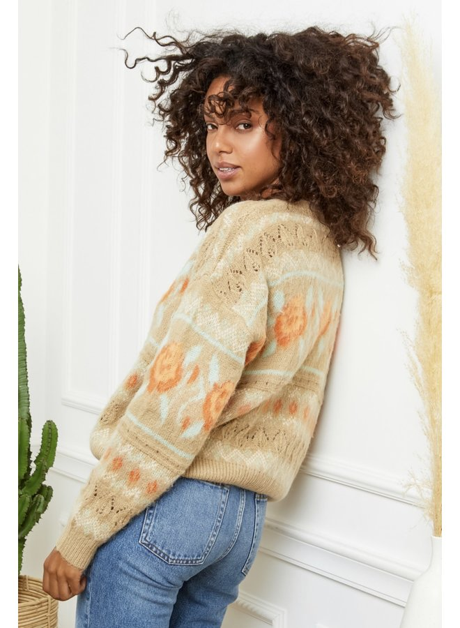Sweater Rachelle Camel